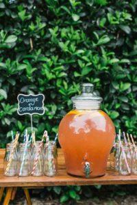 сок-бар на свадьбе