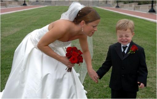 Дети на свадьбе