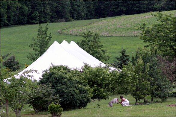 свадьба шатер